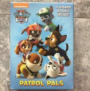 Paw patrol book set- 4 board books