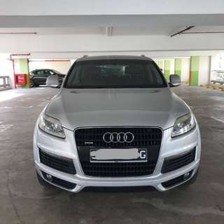 Audi Q7 3.6FSI Qu S-line