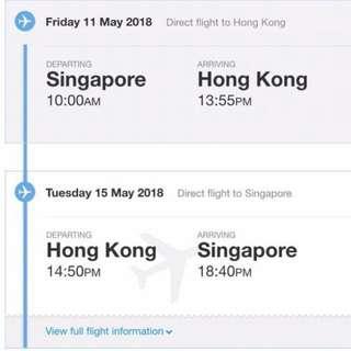 Jetstar - Hongkong Ticket 2 Pax
