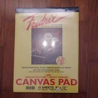 Fredrix Canvas Pad