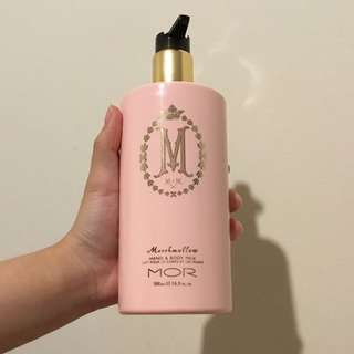 Mor hand and body milk cream