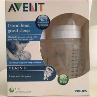 Avent classic 9oz twin pack
