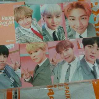 WTS BTS 4TH MUSTER PHOTO BINDER LOOSE