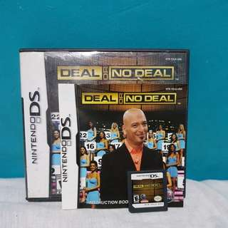 DEAL OR NO DEAL: NINTENDO DS GAMECARD