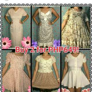 KAWAII DRESSES SALE!