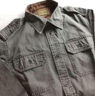 WTAPS washed shirt