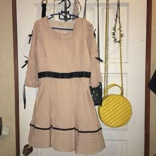 Soft Pink Short Dress