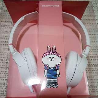 🚚 Line 兔兔頭戴式耳機