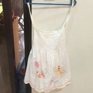Kids Sleeveless Flowery Dress