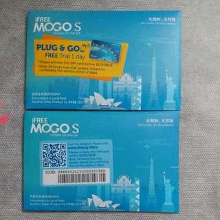 iFree MOGO S 數據電話卡