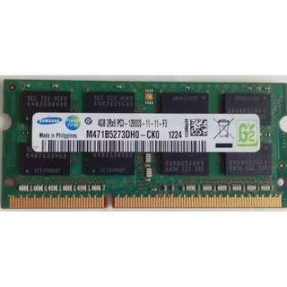 $220 DDR3 1600  4GB SO-DIMM RAM (+85264245361)