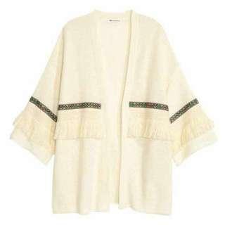 H&M Coachella Fringe Outerwear