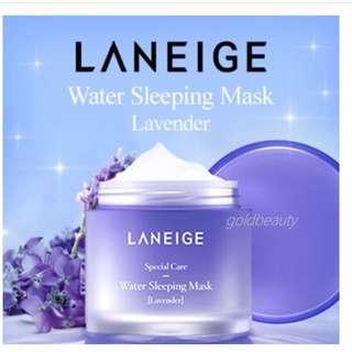 Laneige Water Sleeping Mask 70ml Lavender