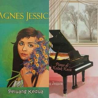 Bundling 2 Novel Agnes Jessica Peluang Kedua dan Piano di Kotak Kaca