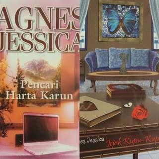 Bundling 2 Novel Agnes Jessica Pencari Harta Karun dan Jejak Kupu Kupu