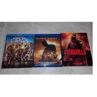 Bluray Movie ( $15 Each )