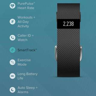 Fitbit Charge HR Wristband (Full Set)