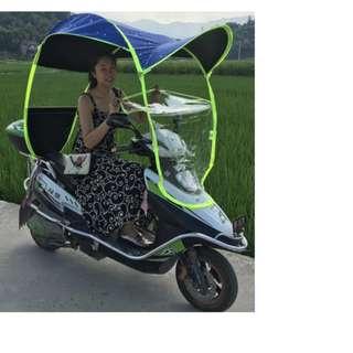 Motorcycle Sun/Rain Block Canopy - Pre Order