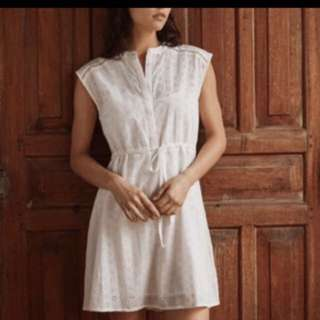 BNWT Jack Wills Broderie Shirt DressSize 8