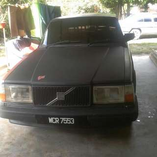 Volvo 240 SE (A) 1992 Good Contion+Aircond (whatsapp 01137576843