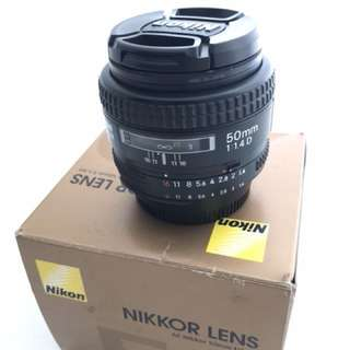 Nikon 50mm 1.4 | Good condition