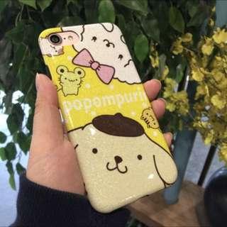 iphonex手机壳布甸狗苹果8plus/7p全包软壳6s(包郵)
