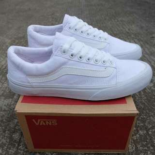 Vans old skool full white premium BNIB