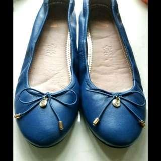 真皮#有彈性#Oxbridge Town Universities Series Lady 悠閒鞋 #藍色 #36/37碼size