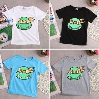 Baby Boy Summer Cartoon Short Sleeves T-shirt 🍀