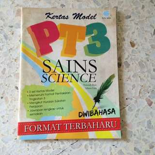 Model test paper - Science PT3 ( Bilingual )