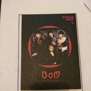 Bom first mini album (song mino first debut)
