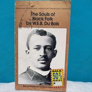 THE SOULS OF BLACK FOLKS by W.E.B.DU BOIS