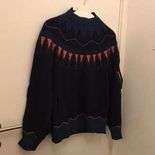 Sacai wool sweater