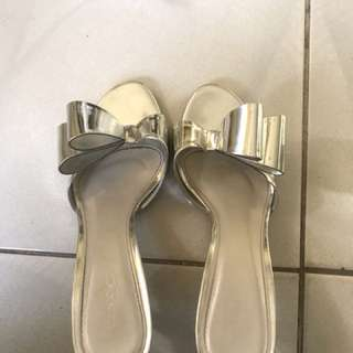 Vincci Silver Sandals