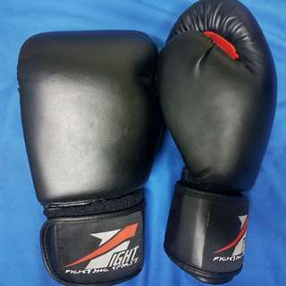 FIGHT Boxing Gloves and KSport Hand Wraps