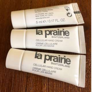 La Prairie Cellular Hand Cream 5ml x 3