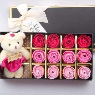 🌹 Forever Rose Soap Vday Gift 💝instock
