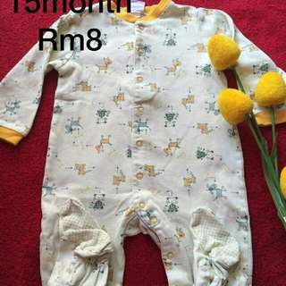 baju baby 15 month