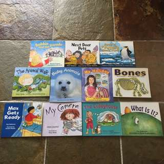 Rigby Literacy Emergent 3 Books for Kids