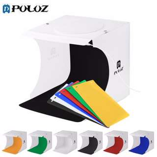 PULUZ Portable Folding LED Photo Studio Light Box - 23*24cm