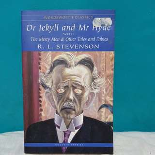 DR JEKYLL AND MR HYDE by R.L. STEVENSON