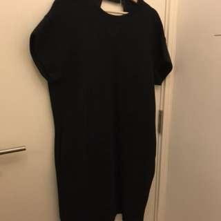 Sacai one piece dress sweater