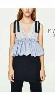 Zara pinafore top look a like