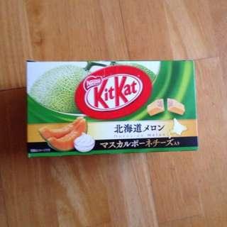 Kitkat Hokkaido melon- Japan