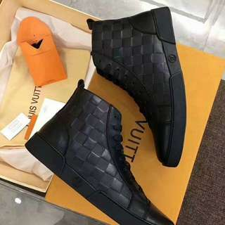 Rare Louis Vuitton High Cut Sneakers (Free International Shipping)