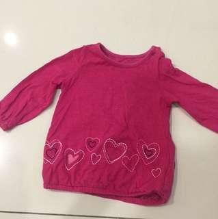 Mothercare embroidered top