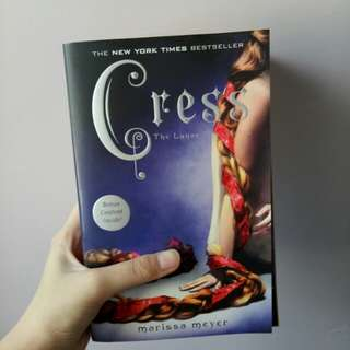 The Lunar Chronicles Cress