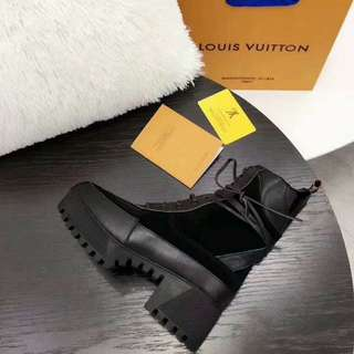 Louis Vuitton Combat Boots (Free International Shipping)