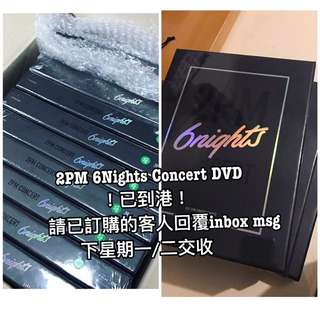 🇰🇷2PM 6nights Concert DVD