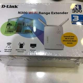 D-LINK N300wifi Range Extender